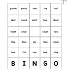 OW &amp; OY Word Bingo