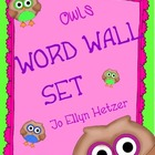 OWL WORD WALL KIT