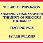 Obama&#039;s &quot;Religious Tolerance&quot; Persuasive Speech (Ethos,Pat