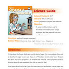 Objects & Materials Science Guide