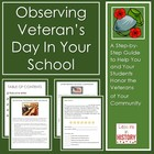 Observing Veteran's Day in Your School
