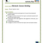Obstacle Course Building Activity Plan