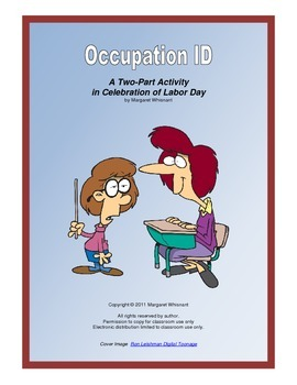 Occupation ID--A Two-Part Activity in Celebration of Labor Day