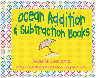 Ocean Addition & Subtraction Books
