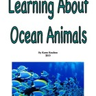Ocean Animal Academic Vocabulary shared reading