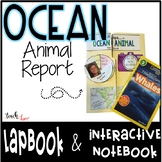 Ocean Animal Lap Book and Research Project