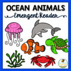 Ocean Animals Emergent Reader & Printable Coloring Book