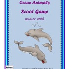 Ocean Animals Noun and Verb Scoot