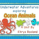 Ocean Animals Unit {Common Core Aligned} {Literacy, Scienc