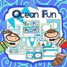 Ocean Fun Editable Organization and Decor Set
