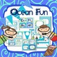 Ocean Classroom Organization and Decor Set (Editable)