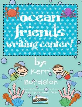 Ocean Friends! Writing Center