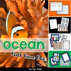 Ocean Math Game Pack