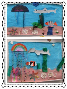 Ocean Murals (with fiction or nonfiction writing component)
