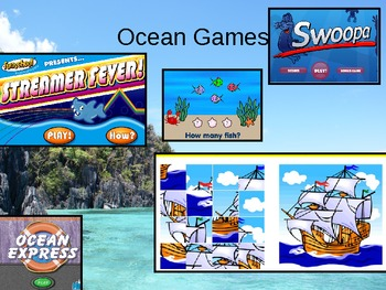 Ocean Power Point for Kindergarten