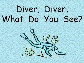 Ocean Shared Reading for Kindergarten- Diver, Diver What D
