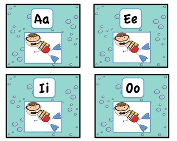 Ocean Short Vowel Sort