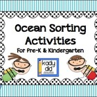 Ocean Sorting Activities {for Pre-K & K}