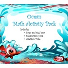 Ocean Theme Math Activity Pack