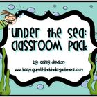 Ocean-Themed Classroom Pack (Labels and Posters)