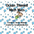 Ocean Themed Math Mats