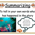 Ocean Themed Reading Comprehension Posters