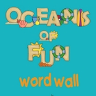 Ocean Themed Word Wall