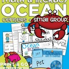 Ocean Math and Literacy Centers and Small Group Materials