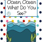 Ocean Vocabulary Book