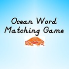 Ocean Word Matching Game