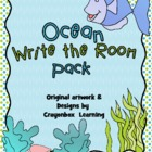 Ocean Write the Room - Writing Activities