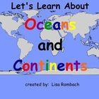 Oceans &amp; Continents Social Studies SmartBoard Lesson Prima
