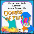 Oceans of Fun: Literacy &amp; Math Activities About Ocean Life
