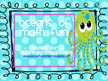 Oceans of Math Fun! Math stations