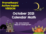 October 2014 Calendar for the  Promethean Board (ActivBoard)