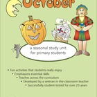 October 32-Page Thematic Lesson Plan Booklet