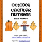 October Calendar Cards:Fall