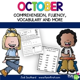 October Fluency Packet Common Core Correlated