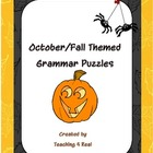 October Grammar Puzzle