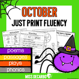 October Just Print Fluency Pack