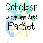 October Language Arts Activity Packet