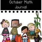 October Math Journal