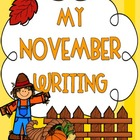 October & November Writing Activities