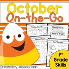 October On-The-Go (ELA and Math Printables)