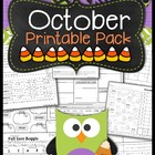 October Printable Pack