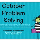 October Problem Solving