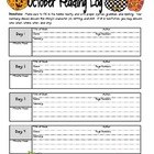 October Reading Logs