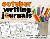 October Writing Center Task Cards