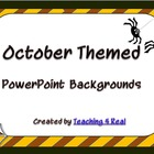 October/Halloween Themed Power Point Background