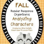 October/November Reader Response: Character Traits